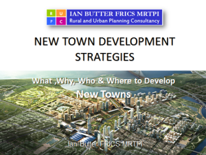 New Town Development Strategies Cover